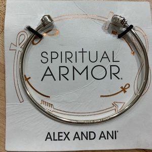 Alex and Ani Lotus Peace Petals Cuff